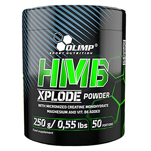Olimp Nutrition HMB Xplode Pre Workout Booster with Micronised Creatine Magnesium and Vitamin B6 (Orange)