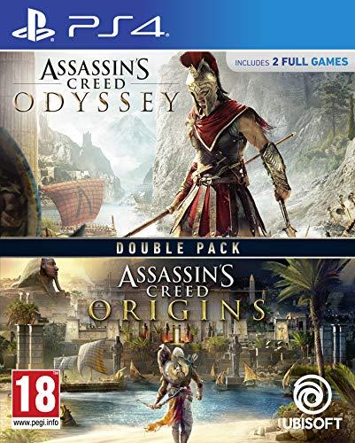 Assassin's Creed Origins + Odyssey Double Pack - PlayStation 4 [Edizione: Regno Unito]