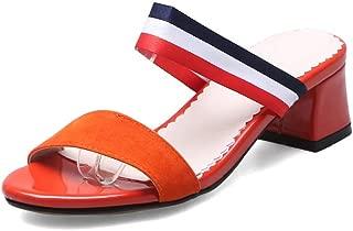 BalaMasa Womens AFL00297 Pu Heeled Sandals
