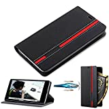 D-kandy for Honor 8 Pro, Customised Leather Flip Wallet Case Stand with Card Holder Flip Cover for Honor 8 Pro - (Custmised Black)