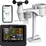 Ambient Weather WS-7078 Smart Weather Station w/WiFi Remote Monitoring and Alerts