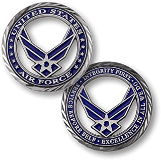 Northwest Territorial Mint Core Values - U.S. Air Force Challenge Coin…