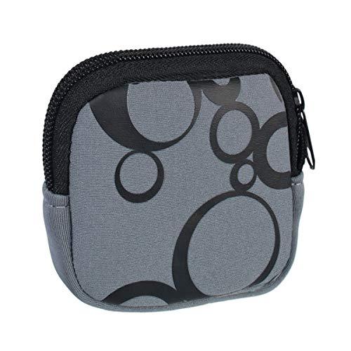 vyvy mobile Schutzhülle für Bosch Intuvia Display Tasche aus stoßfestem Neopren in grau E-Bike Pedelec Fahrradcomputer Schutz Cover