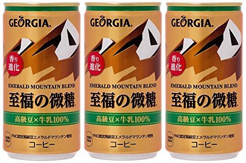 ジョージア エメラルドマウンテン 至福の微糖 缶185g