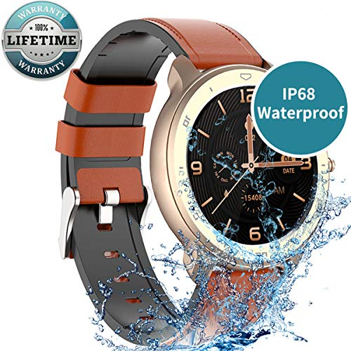 Smart Watch for Android Phones Compatible with iPhone Samsung, Android Smart Watch IP68 Waterproof, Fitness Tracker with Heart Rate Step Sleep Tacker Bluetooth Smartwatch for Women Men