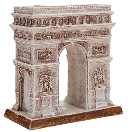 ZYBZYHフランスの凱旋門の彫刻、シミュレーションモデル、世界のランドマーク建築、家の装飾、樹脂工芸品