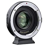VILTROX EF-M2 II Auto Focus 0.71x Reducer Speed Booster,EF to M43 Lens Mount Adapter Compatible with Canon EF Lens to Micro Four Thirds M4/3 Camera Panasonic Olympus GH4 GH5 GH5S E-M5 E-M10 E-PL5