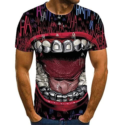 N\P Camiseta de manga corta diseño de los hombres de verano
