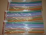 Schnooridoo 12 x Bleistifte Bunte Biegebleistifte Kindergeburtstag Mitbringsel Give Away