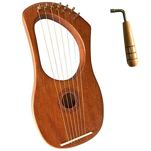 Luvay Lyre Harp, 7 Metal String ...