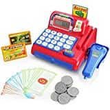 Best Toy Cash Registers - Boley Toy Cash Register with Scanner - Red Review