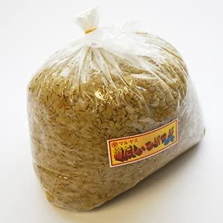 マルヤス味噌 無添加 愛媛県 麦味噌(白) つぶ(粒)タイプ 4kg