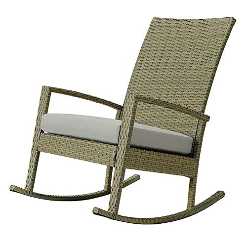Balkon, slaapkamer, leefruimte, waardig voor tuin, hoogten rotan schommelstoel rotan stoel, buiten nationaal ontwerp glad en ontspannen fauteuil