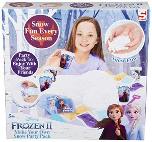 Frozen 2 Make Your Own Snow Party Pack for Girls