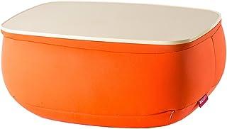 TAVOLINO(タボリノ) クッションテーブル 36×26×16cm オレンジ
