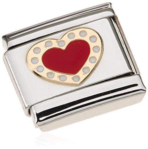 Nomination - 030283-04, Charm e ciondolo per bracciale in acciaio inossidabile