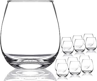 9 oz stemless wine glass gift box
