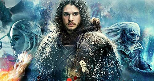 Rewe Wooden Puzzle for 2 Year Olds,Game of Thrones movie poster-1000 pieces of puzzle,Puzzle for Teens Adults Wood Craft Puzzle Game Jigsaw Gifts for Adults and Kids Home Decoration