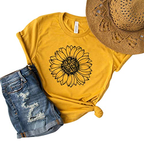 (40% OFF) Women's Sunflower Tee $9.99 – Coupon Code