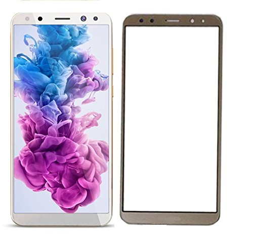 Karirap Top Quality ultra clear, 9H hardness,2.5D Curved, shatterproof, anti explosion, scratch free, bubble free, oil resistant, reduced fingerprint tempered gold glass screen protector tempered gold glass for Huawei honor 9i