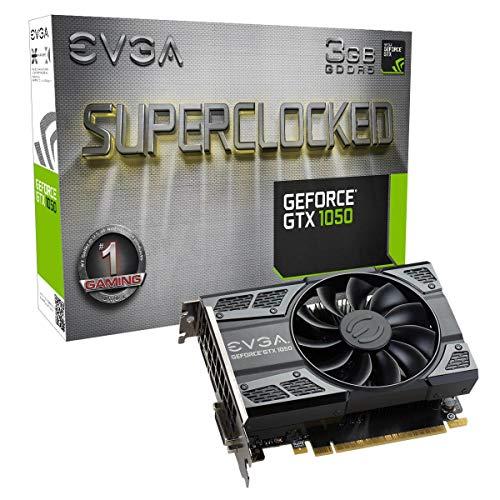 EVGA 03G-P4-6153-KR - Tarjeta gráfica (GeForce GTX 1050, 3 GB, GDDR5, 96 bit, 7680 x 4320 Pixeles, PCI Express 3.0)