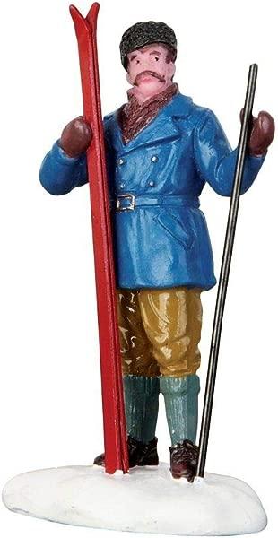 Alpine Skiier Figurine By Lemax