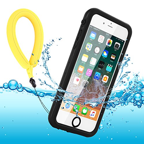 BDIG Funda Impermeable para iPhone 7/8/SE, IP68 Waterproof Carcasa Resistente al Agua con Protector de Pantalla Incorporado para iPhone SE/iPhone 7/iPhone 8