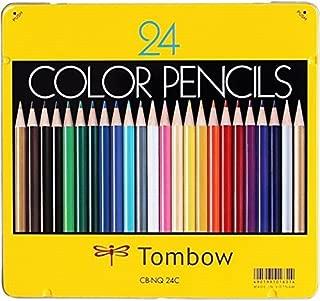 トンボ鉛筆 色鉛筆 NQ 24色 CB-NQ24C Japan