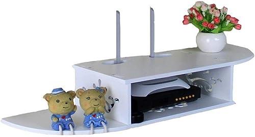 DEWUFAFA Router Shelf, Wall MountBox Aufbewahrungshalterung ForHome Bedroom Wohnzimmer Set-Top Rack-Free Punch (Größe   78.5CM)
