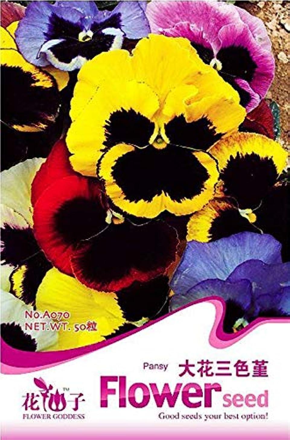 Original Package 50 Pansy Seeds Viola Tricolor herb Trinity a070