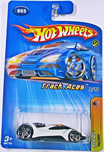 Mattel Hot Wheels 2005 1:64 Scale Track Aces White Vulture Die Cast Car #065