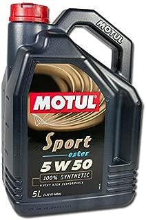 Motul 102716 Motor Oil, 169.05 Fluid_Ounces