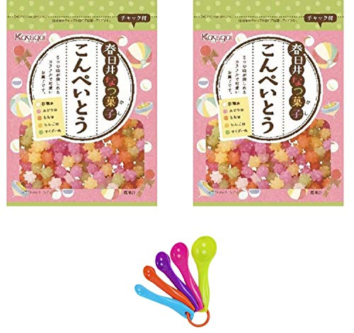 Japanese Candy Konpeito 2.9oz x 2 pack , including mesuring spoon