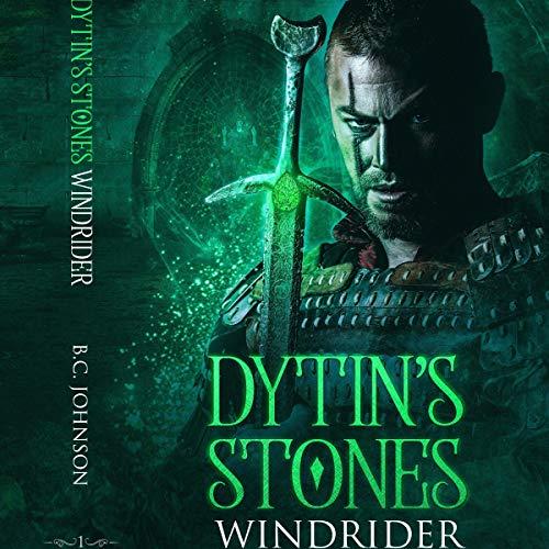 Dytin's Stones: Windrider audiobook cover art