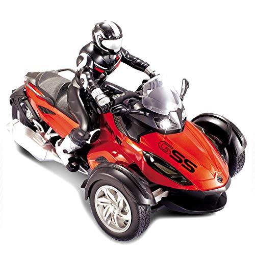 MAFANG RC Motorrad, Kinder Off Road Cars Mit Vier Rädern RC Motor Cycle Fernbedienung Fahrzeuge Spielzeug Strand...