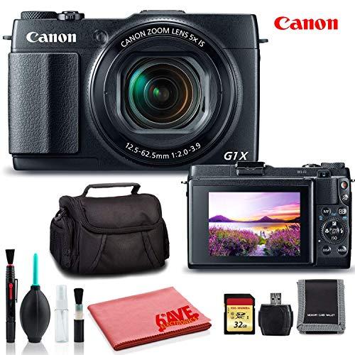 Canon PowerShot G1 X Mark II Digital Camera (International Model) - Ultimate Kit