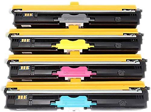El cartucho de tóner original Tnp23 es compatible con Konica Minolta, adecuado para la impresora Konica Minolta Bizhub C15p / c17 / c18, consumibles originales de 4 colores-4colors