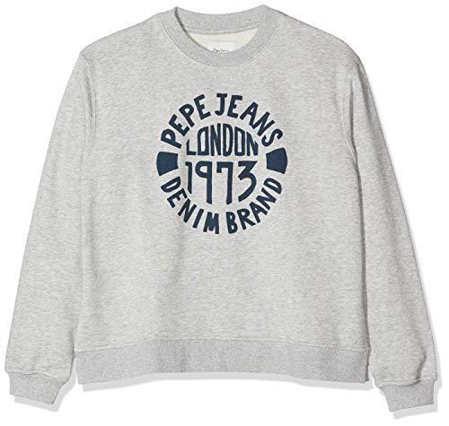 Pepe Jeans Damen Nine Sweatshirt, (Grey Marl 933), X-Large