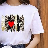 AFGYASWプラスサイズOネックTシャツレディースカジュアル半袖TシャツサマーアイブロウファニーTシャツレディース