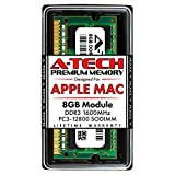 A-Tech 8GB PC3-12800 DDR3 1600MHz RAM for Apple MacBook Pro (Mid 2012), iMac (Late 2012, Early/Late 2013, Late 2014, Mid 2015), Mac Mini (Late 2012) | 204-Pin SODIMM Memory Upgrade Module