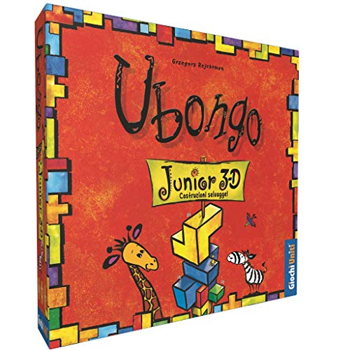 Juegos Uniti-UBONGO: 3D Junior Un Grado clásico del Juego German, Hora para los más pequeños, Multicolor, 1