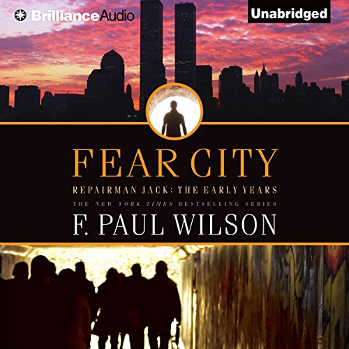 Fear City audiobook cover art
