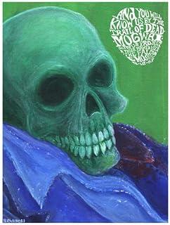Trail Of Dead 16/9/03 Póster de serigrafía de edición limitada de Jermaine Rogers Original firmado y numerados con: Trail Of Dead, Mogwai, pulpo Project, diseño de tigre y se llama enamoradizo