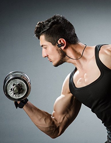 Fusion Beats Bluetooth Headphones / Best, Noise Cancelling Wireless Sports Earphones / Sweatproof Earbuds for Gym Running / Up to 8 Hours of Working Time / Built-in Mic Headsets 9