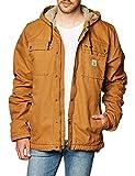 Carhartt Bartlett Jacket Giacca, Brown, L Uomo
