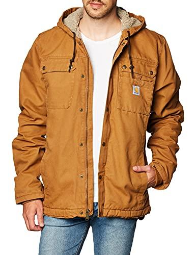 Carhartt Men's Bartlett Jacket (Regular and Big & Tall Sizes), Brown, Medium