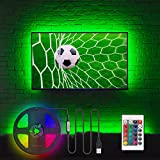 Hamlite TV LED Backlight for 32 – 60 Inch TV Light Strip, 8.2ft USB LED Light Strip Mood Light Kit for TV Stand, Soundbar, Monitor, Computer Desk, Man Cave Lighting Decor