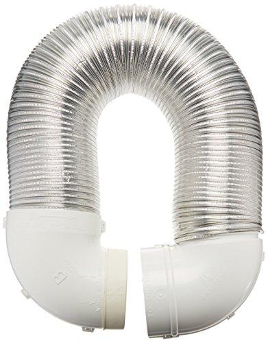 Lambro Industries 4004 Quick Connect Flexible Aluminum Duct Dryer Vent Kit