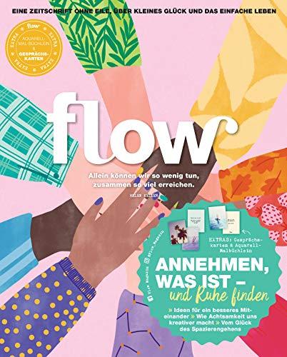Flow Nummer 50 (4/2020): Eine Zeitschrift ohne Eile, über kleines Glück und das einfache Leben