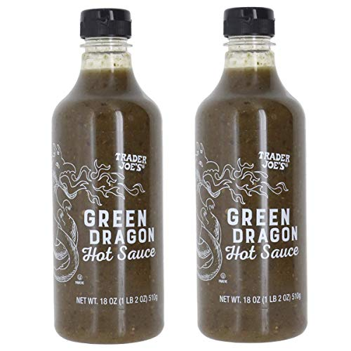 Trader Joe#039s Green Dragon Hot Sauce Bundle 2 Pack